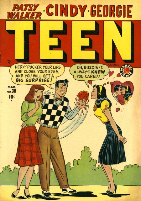 Teen Comics 30 Cover Image