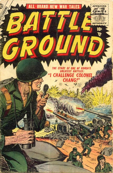 Battle Ground 8 Cover Image