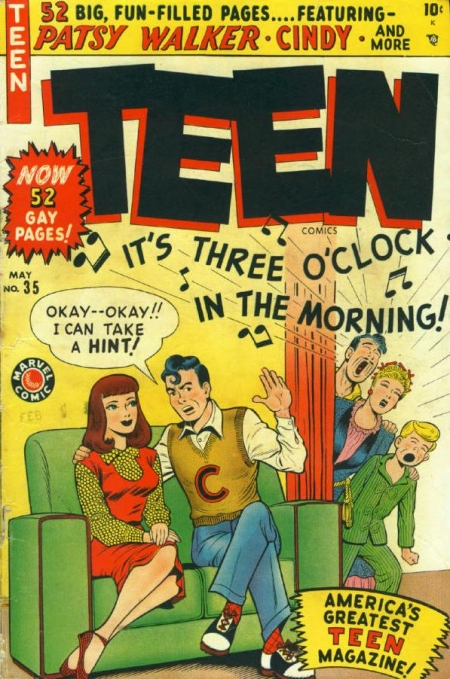 Teen Comics 35 Cover Image