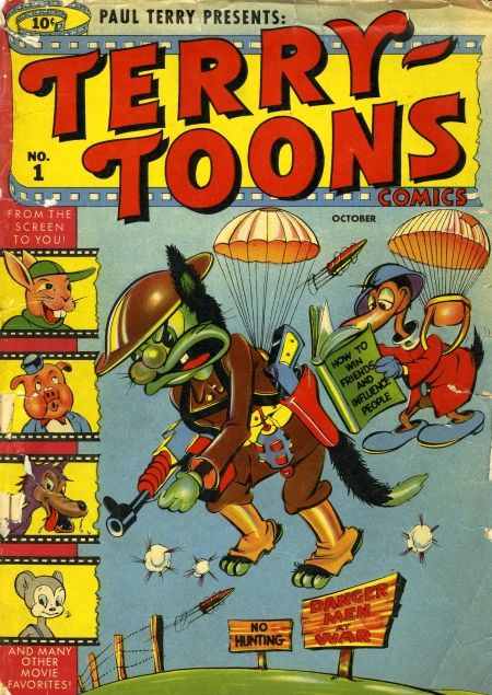 Terry-Toons Comics 1 Cover Image