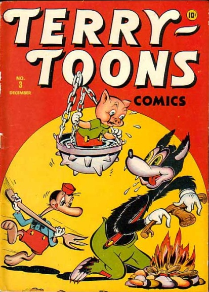 Terry-Toons Comics 3 Cover Image