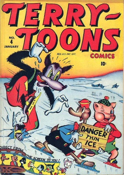 Terry-Toons Comics 4 Cover Image