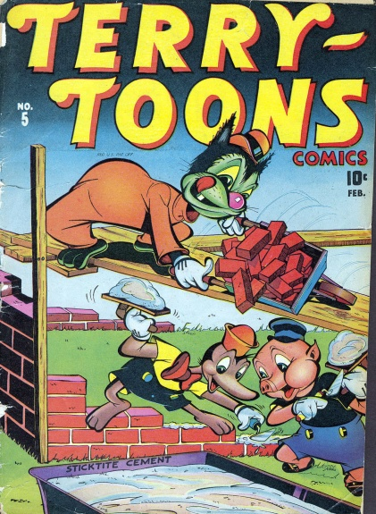Terry-Toons Comics 5 Cover Image