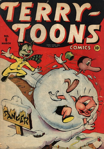Terry-Toons Comics 6 Cover Image