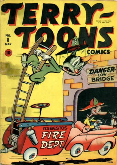Terry-Toons Comics 8 Cover Image