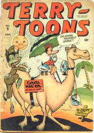 Terry-Toons Comics 9 Cover Image
