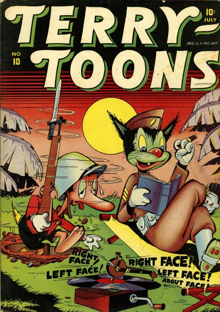 Terry-Toons Comics 10 Cover Image