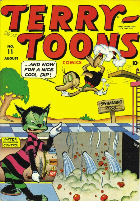 Terry-Toons Comics 11 Cover Image