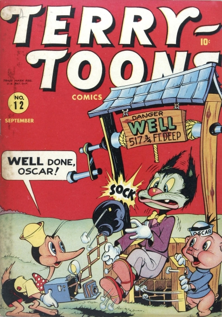 Terry-Toons Comics 12 Cover Image