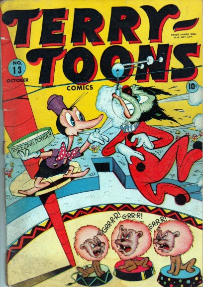 Terry-Toons Comics 13 Cover Image