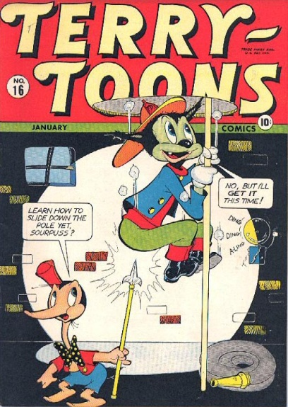 Terry-Toons Comics 16 Cover Image