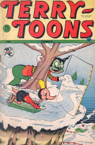 Terry-Toons Comics 17 Cover Image