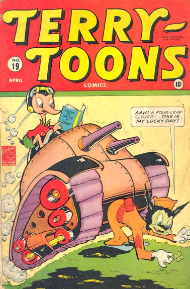 Terry-Toons Comics 19 Cover Image
