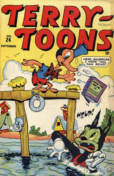 Terry-Toons Comics 24 Cover Image