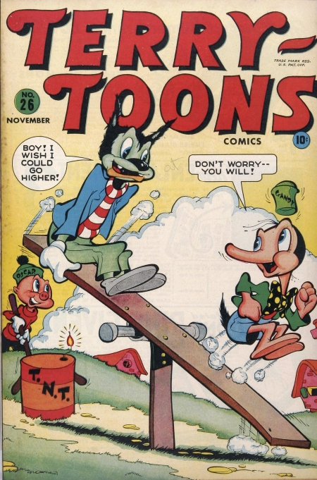 Terry-Toons Comics 26 Cover Image