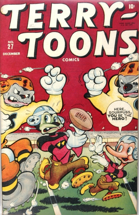 Terry-Toons Comics 27 Cover Image