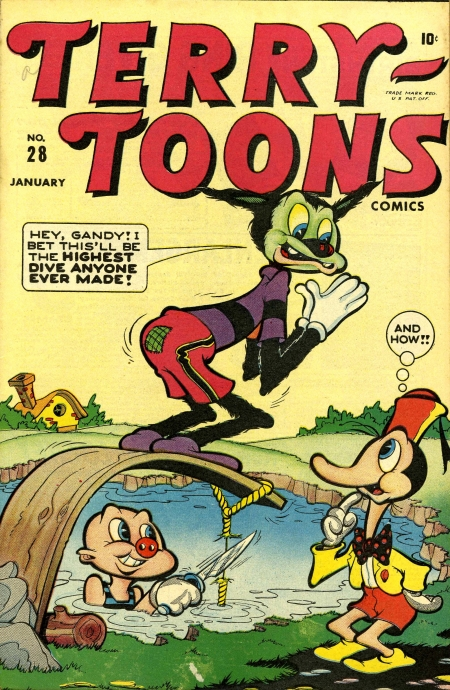 Terry-Toons Comics 28 Cover Image