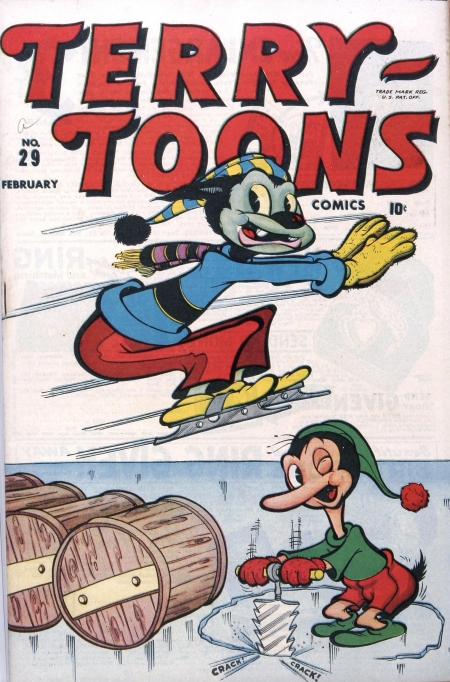 Terry-Toons Comics 29 Cover Image