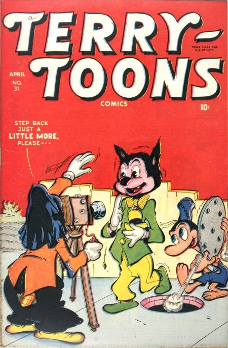 Terry-Toons Comics 31 Cover Image