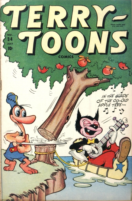 Terry-Toons Comics 34 Cover Image