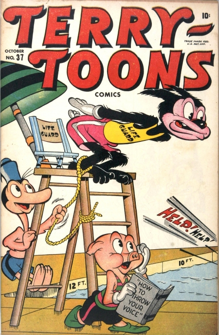 Terry-Toons Comics 37 Cover Image