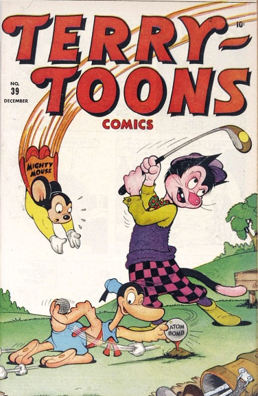 Terry-Toons Comics 39 Cover Image