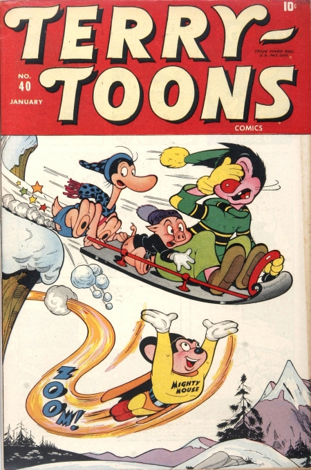 Terry-Toons Comics 40 Cover Image