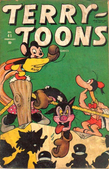 Terry-Toons Comics 41 Cover Image