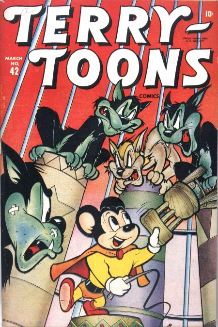 Terry-Toons Comics 42 Cover Image
