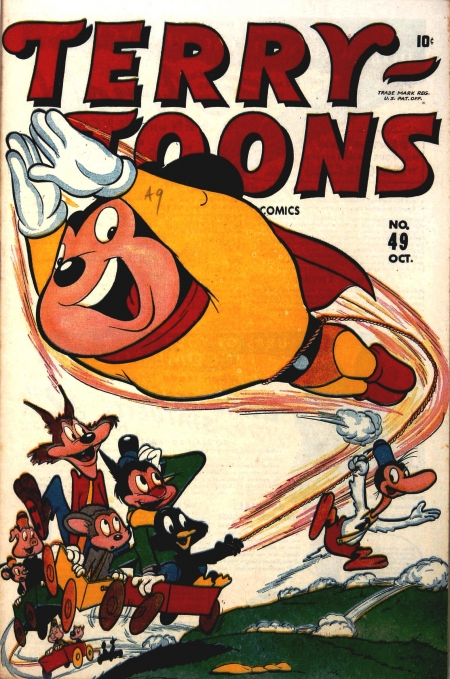 Terry-Toons Comics 49 Cover Image