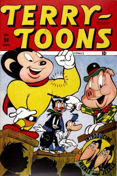 Terry-Toons Comics 50 Cover Image