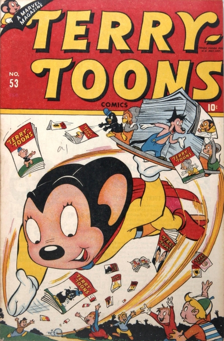Terry-Toons Comics 53 Cover Image