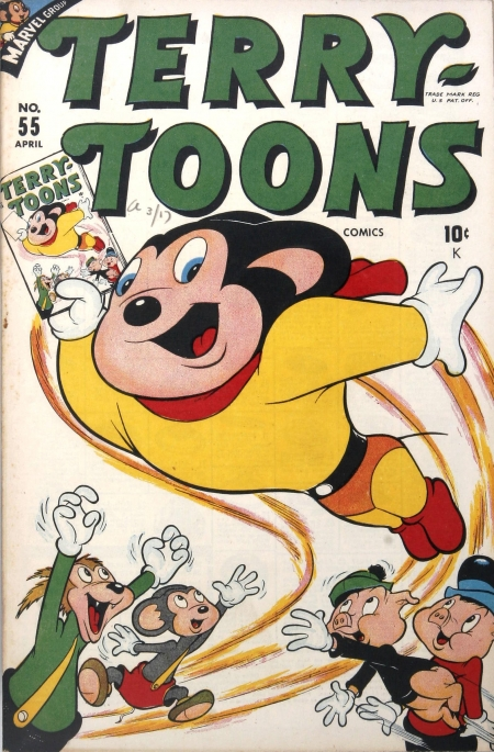 Terry-Toons Comics 55 Cover Image