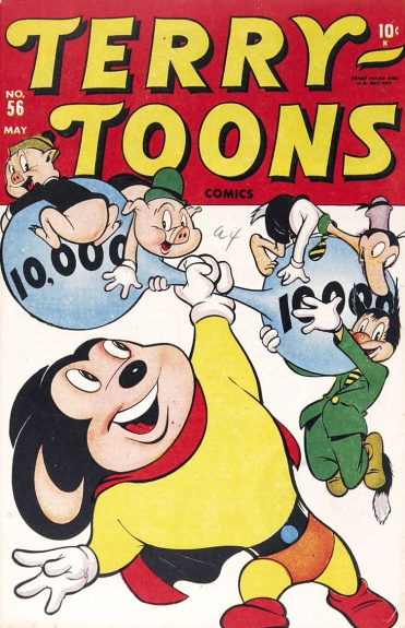 Terry-Toons Comics 56 Cover Image
