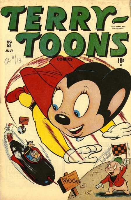 Terry-Toons Comics 58 Cover Image