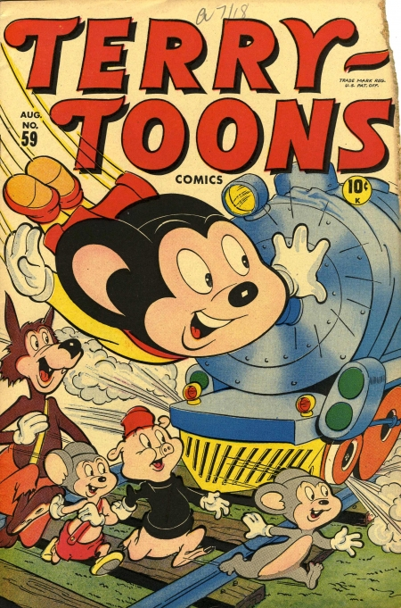 Terry-Toons Comics 59 Cover Image