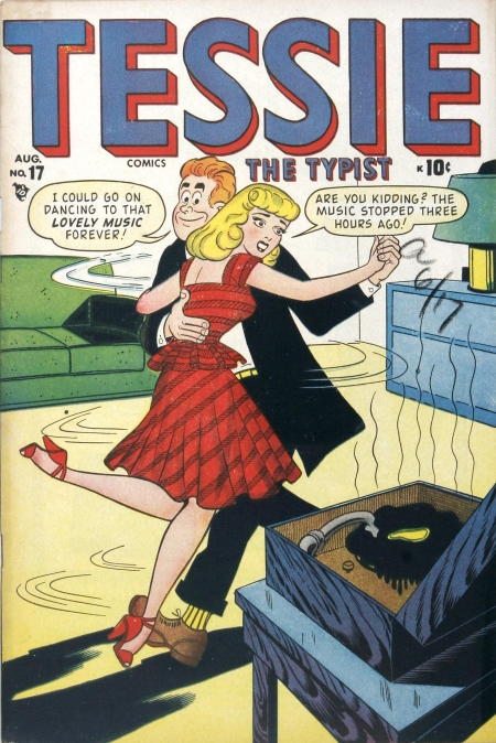 Tessie the Typist 17 Cover Image