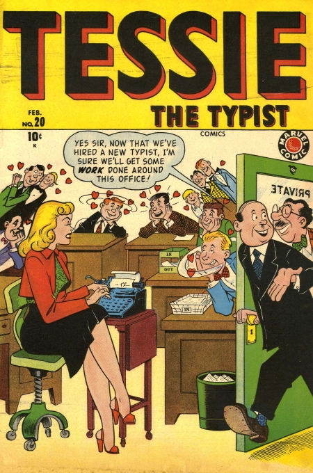 Tessie the Typist 20 Cover Image