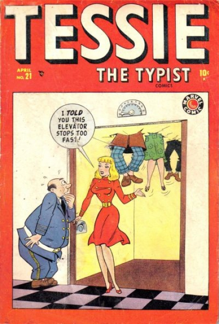 Tessie the Typist 21 Cover Image