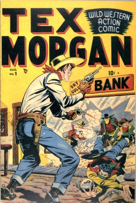 Tex Morgan 1 Cover Image