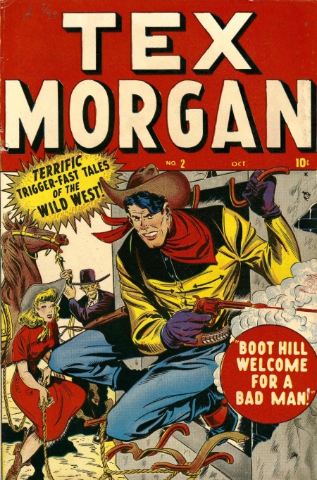 Tex Morgan 2 Cover Image