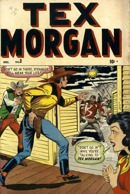 Tex Morgan 3 Cover Image