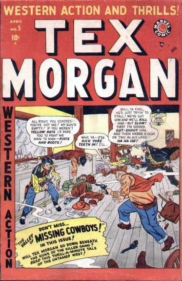 Tex Morgan 5 Cover Image