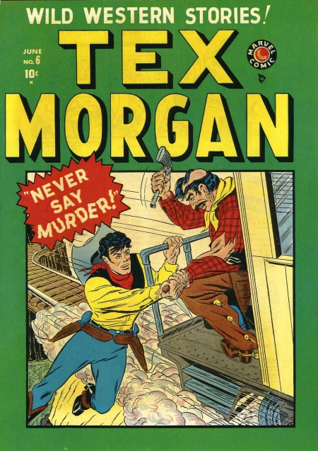 Tex Morgan 6 Cover Image