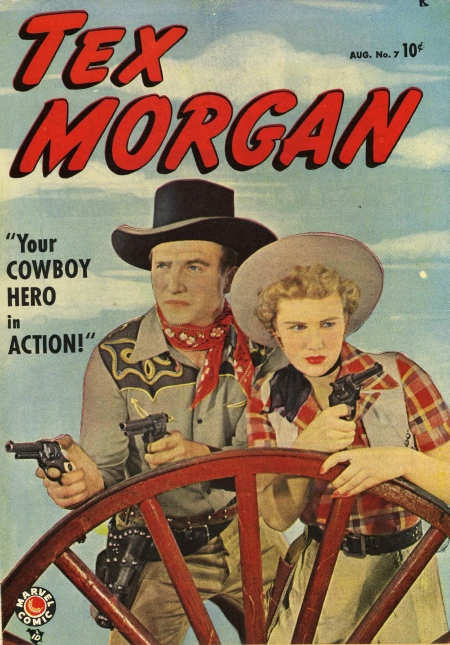 Tex Morgan 7 Cover Image