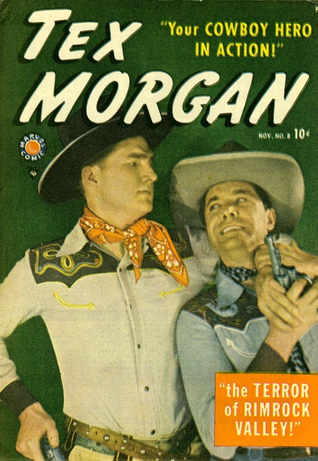 Tex Morgan 8 Cover Image
