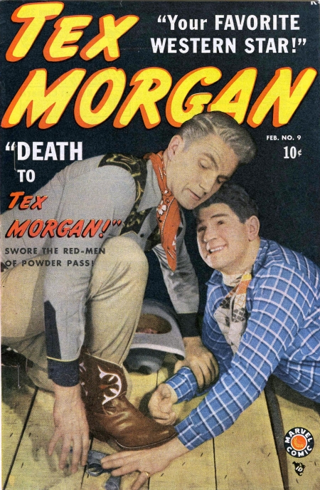 Tex Morgan 9 Cover Image