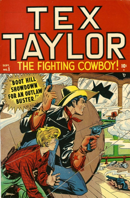 Tex Taylor 1 Cover Image