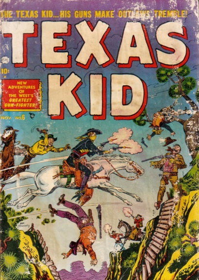 Texas Kid 6 Cover Image