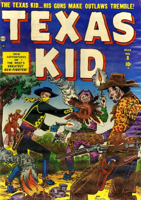 Texas Kid 8 Cover Image